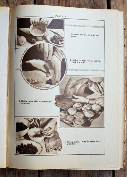 """Vintage """"Around the Clock"""" Cookbook and Heirloom Weights & Measures Conversion Chart"""