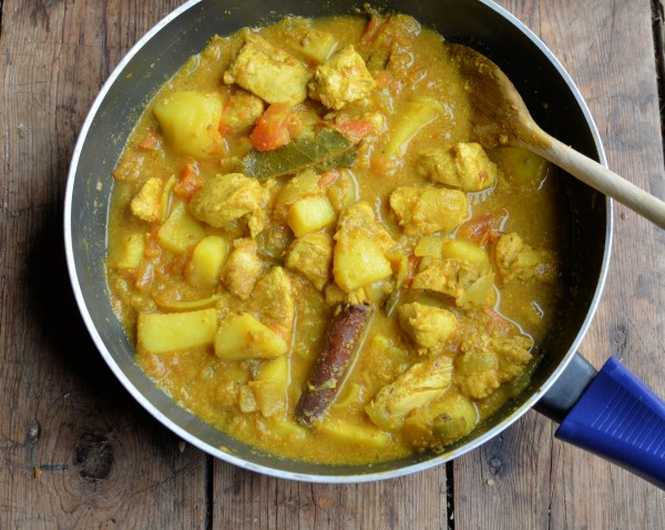 "Modern Masala: South African ""Street Food"" Durban Bunny Chow Recipe"