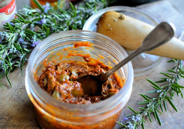 The Secret Recipe Club: Sun-Dried Tomato and Olive Tapenade Recipe