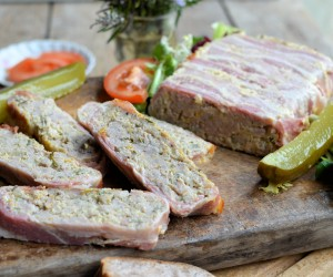 Easy Pork Sausage and Orange Terrine
