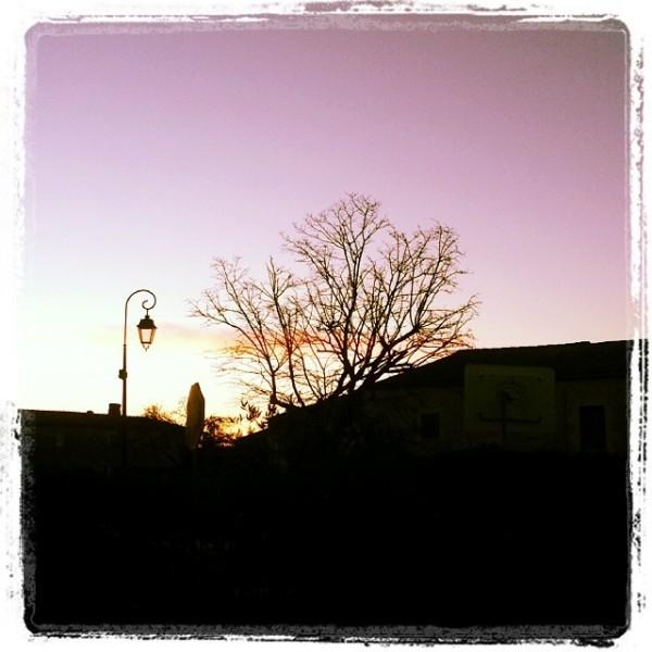 Morning sky, SW France