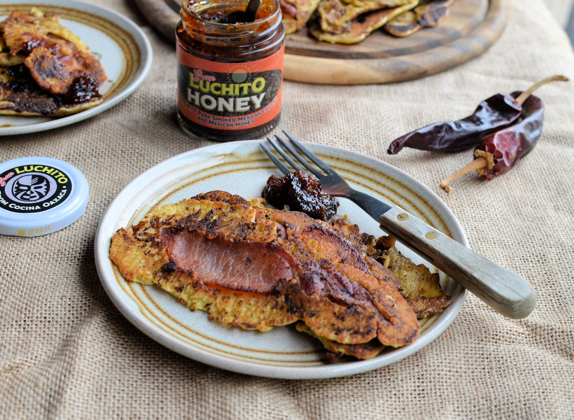 Something Different for Pancake Day! Bacon and Banana Pancake Strips ...