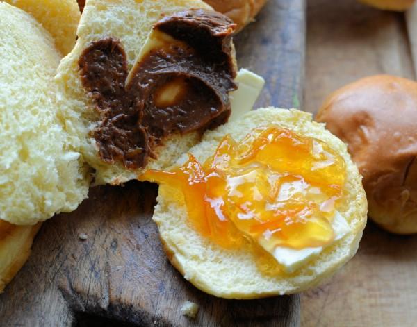 Chocolate Marmalade Bread and Butter Brioche Pudding
