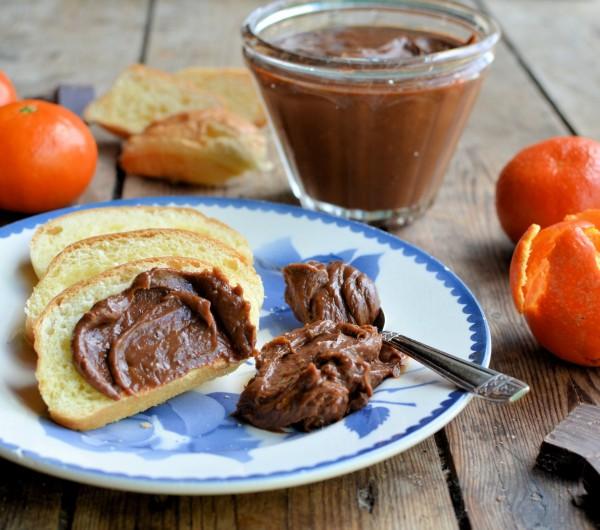 Chocolate Orange Curd with Godiva Chocolates and Clementines