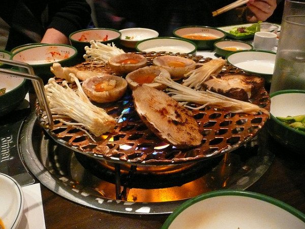 Korean Barbecue Restaurant London Soho