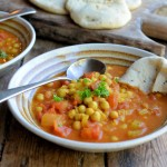On the Spice Trail: Moroccan Harissa and Chickpea Potage Recipe (5:2 Diet)
