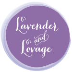 Grab button for Lavender and Lovage