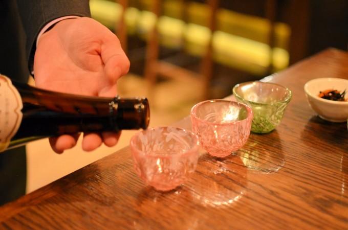 Sake at Chisou Chiswick