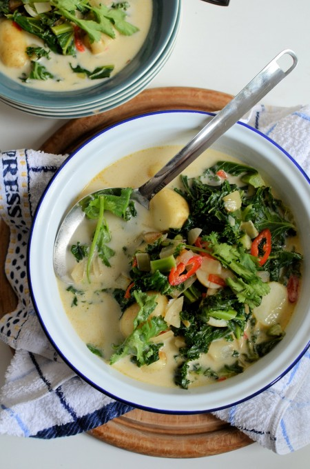 Potato & Kale Curry