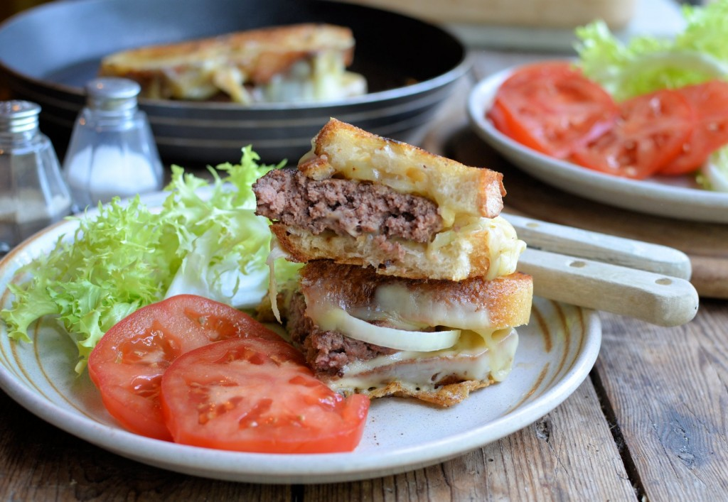 Katie Lee's Award Winning Logan County 'Grilled Cheese' Burger Re...