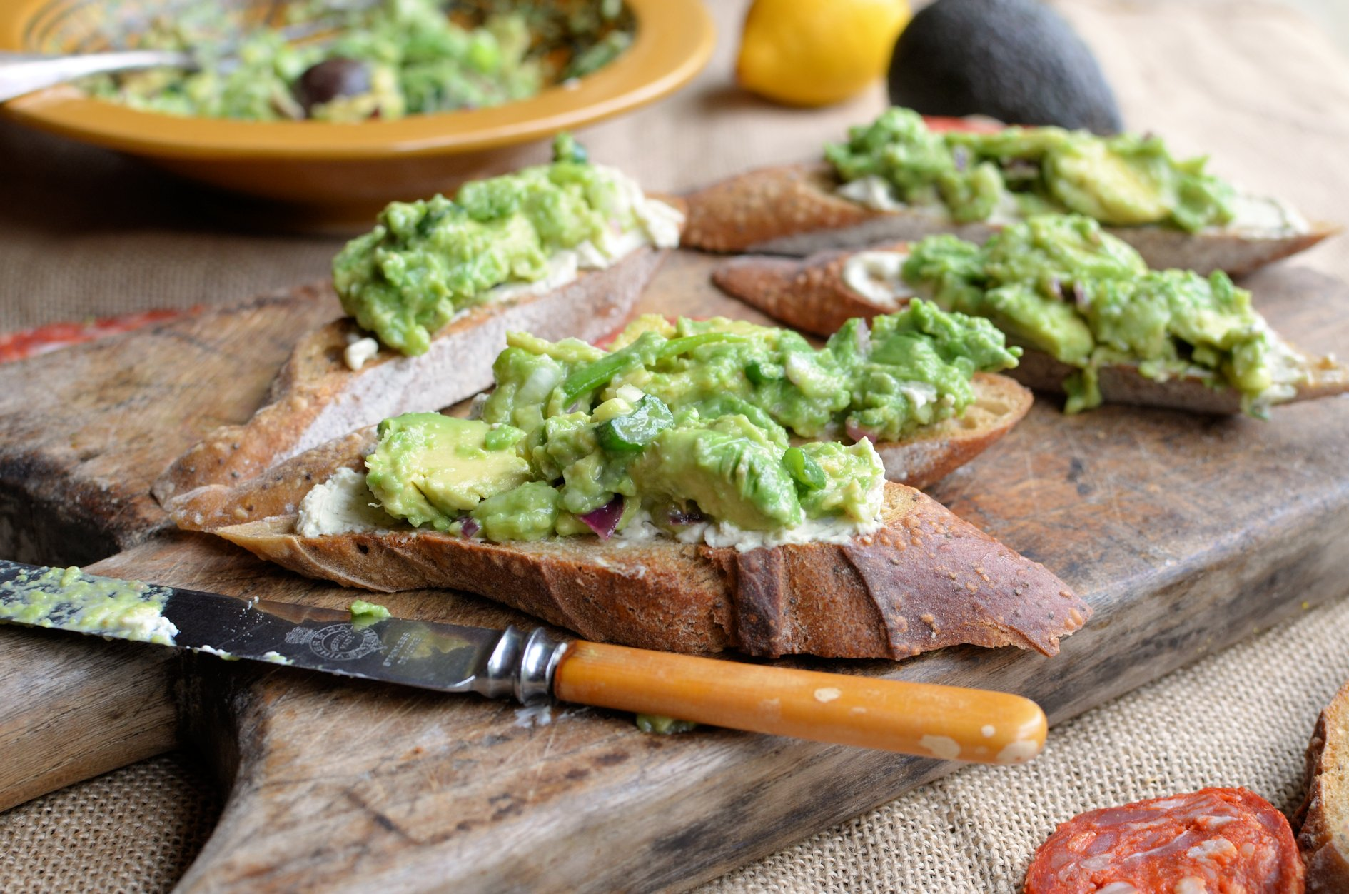 Avocado Love South African Style Guacamole And Cream