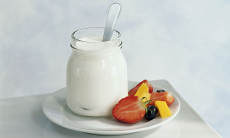 Yogurt and Fruit: Image - The Guardian