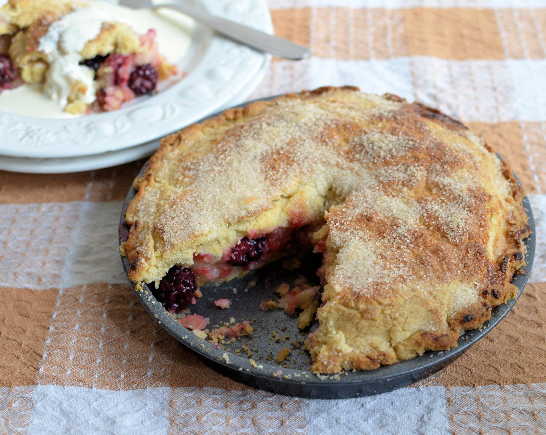 An Old Fashioned Kinda Pie! Heirloom Apple or Fruit Tart Recipe