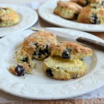 Baking with Mum! Fresh Blueberry Scones Recipe