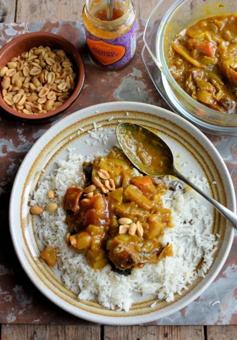 Roast Root Vegetable Curry