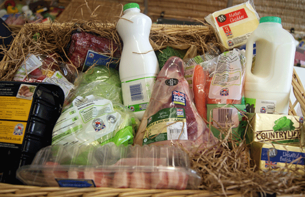 Red Tractor Hamper