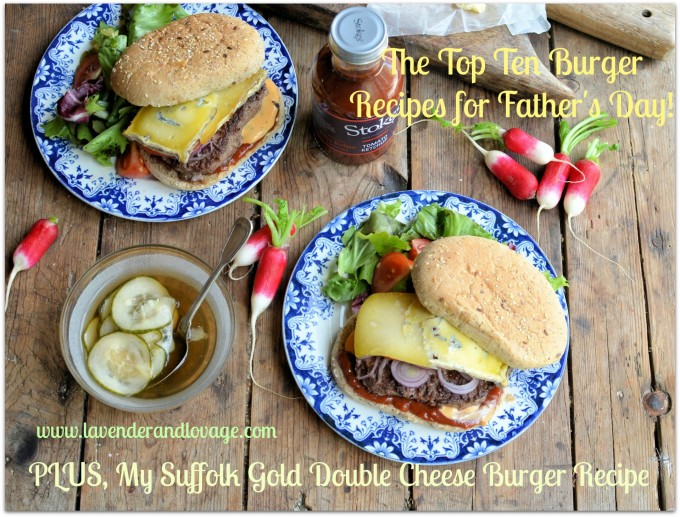 The Top Ten Burger Recipes for Father's Day!