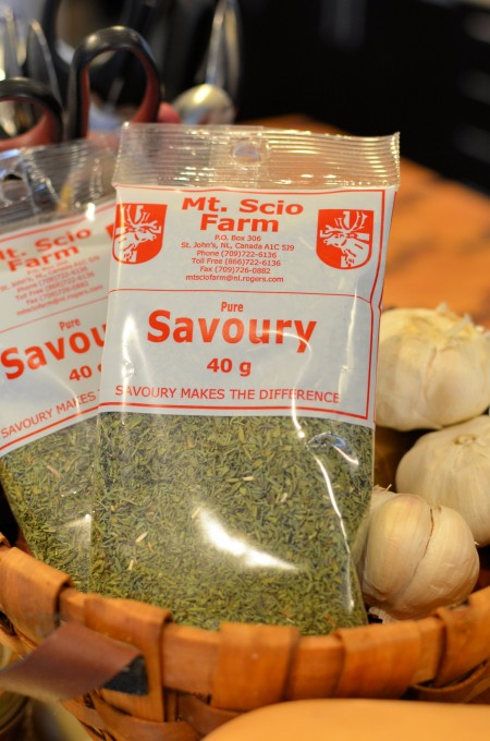The  Featured Herb of my Visit - Summer Savoury/Savory: