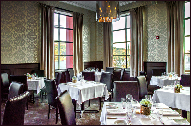 Raymonds Restaurant Dining Room, St John's Newfoundland