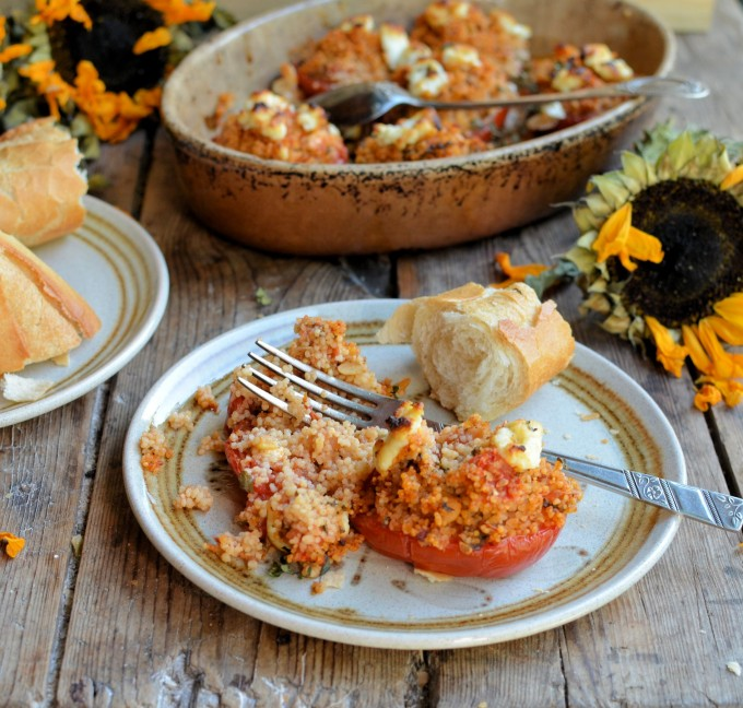Tabbouleh Stuffed Tomatoes