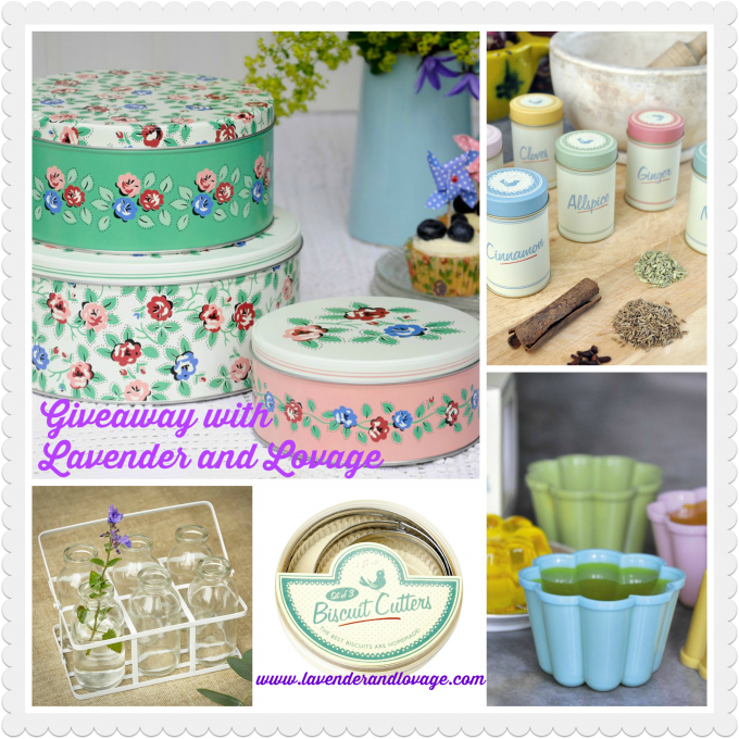 Giveaway: Win a Retro Bundle of DotComGiftShop Kitchen & Baking Goodies