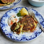 Courgette & Feta Cheese Fritters with Chilli Mint Yogurt Dip (23)