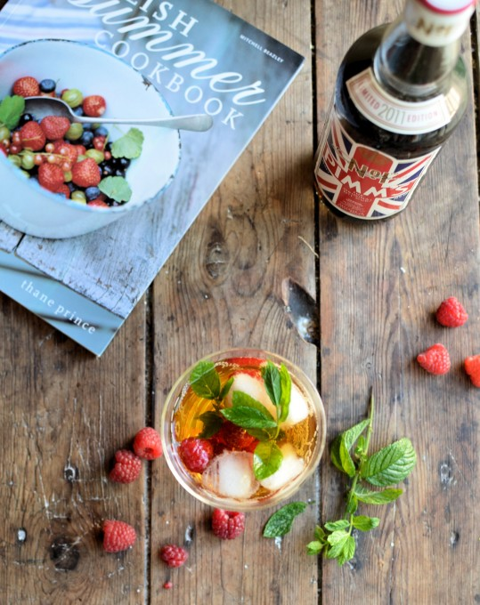 It's always Pimm's O'Clock! Raspberry & Elderflower Pimm's Cocktail