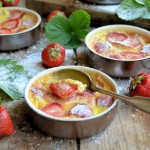 "Sensational Summer Strawberries! Strawberry ""Clafoutis"" (Custard Bakes)"
