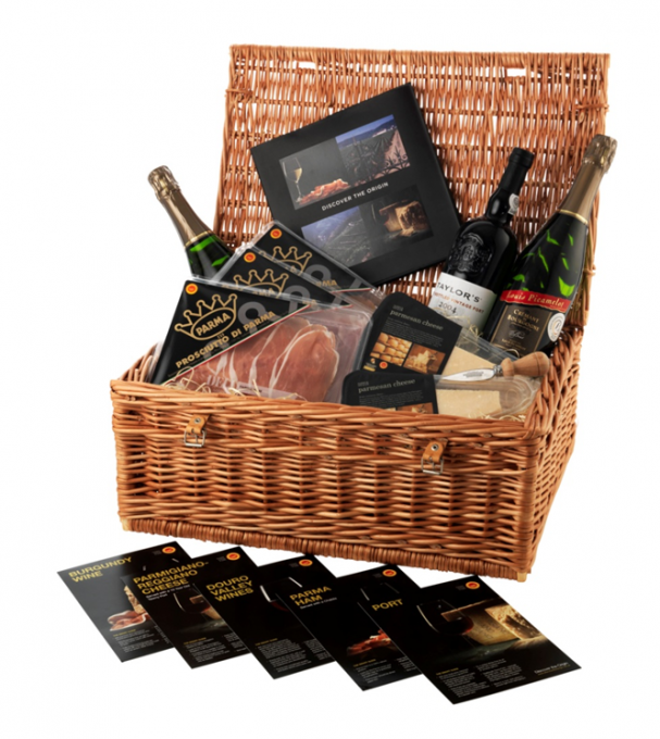 "Giveaway: Win a ""Discover the Origin"" Hamper of Ham, Wine & Cheese (RRP£70)"