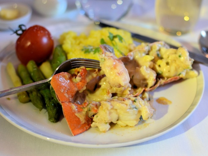 Singapore Airlines Lobster Thermador