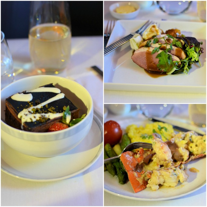 Main Meal Singapore Airlines