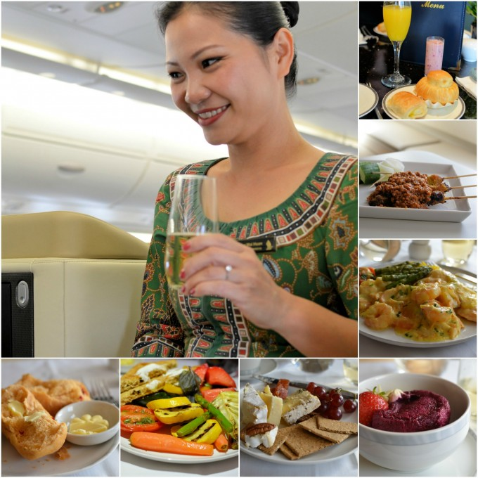 Africa Business Class: Fine Dining, Champagne & Excellent Service: Flying