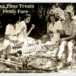 August Tea Time Treats: Pack up a Picnic! Picnic Food & Picnic Treats