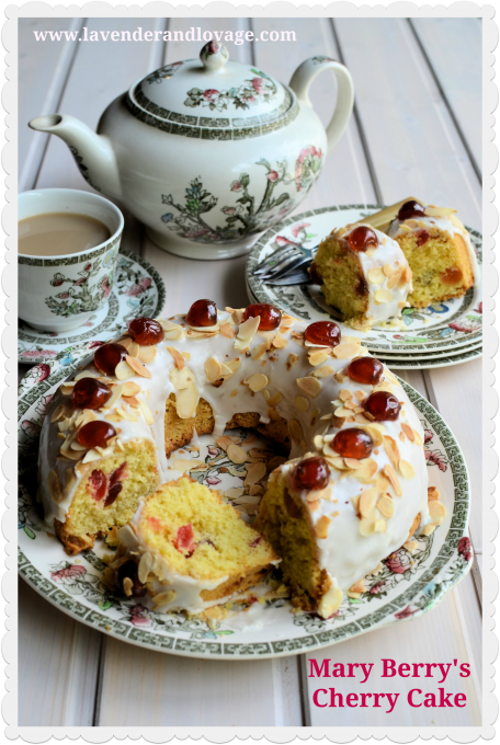 The Great British Bake Off And My Mary Berry Cherry Cake