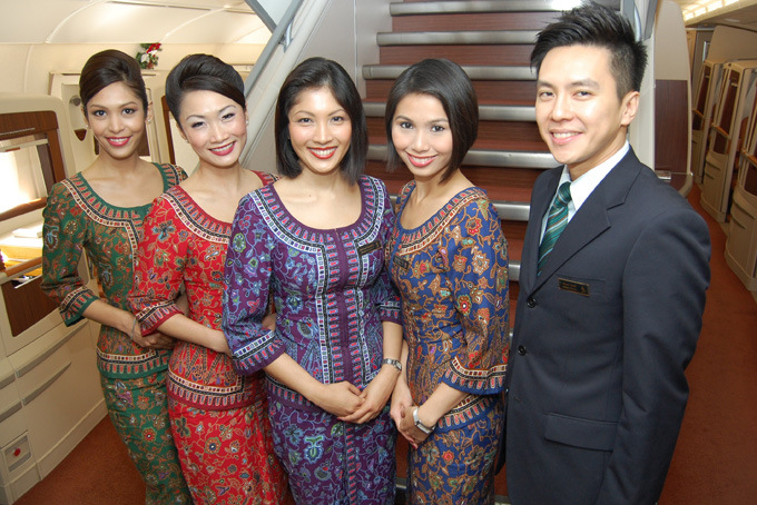 "Singapore Airlines' iconic Singapore Girl first appeared in 1972 wearing the ""sarong kabaya"" uniform, inspired by traditional attire found across much of Southeast Asia."