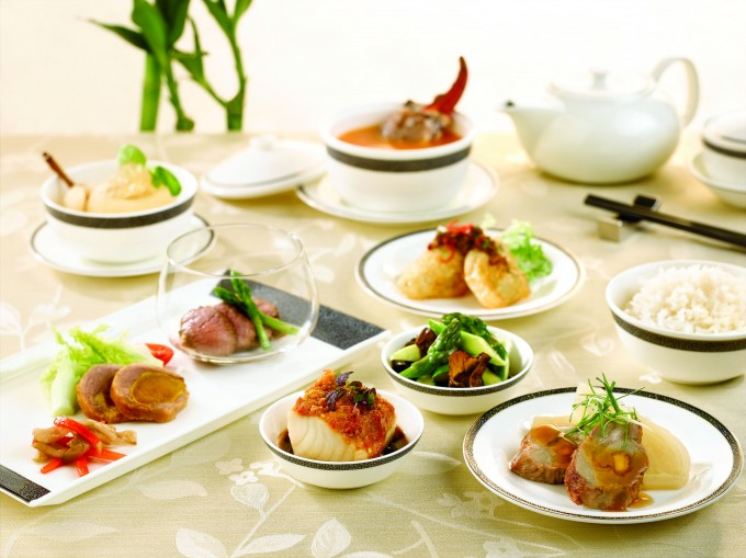Chinese Food on-board Singapore Airlines