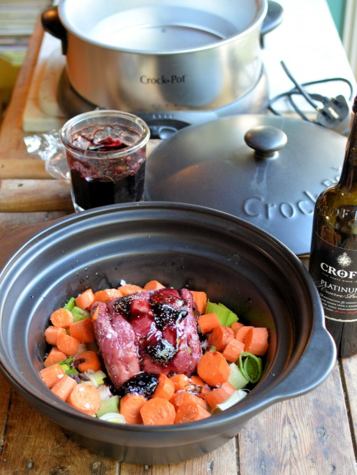 Autumn Beckons: Slow Cooked Beef Brisket with Elderberry Glaze and Port Jus