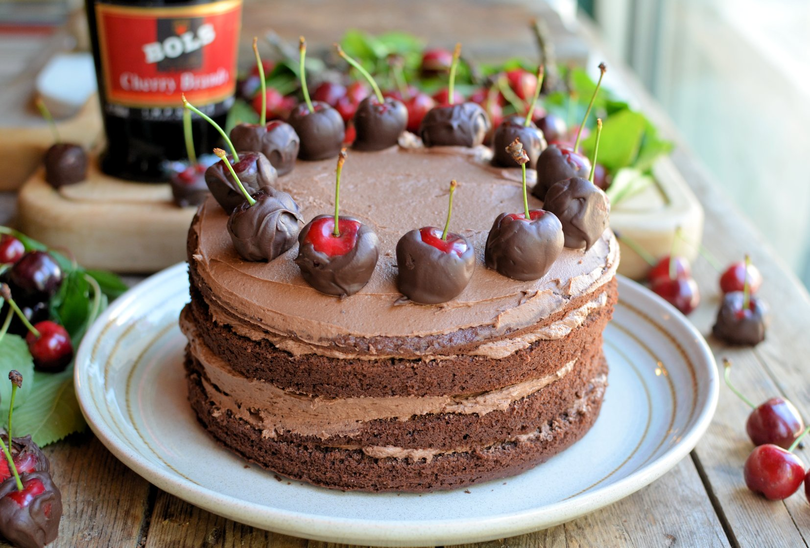 A Show Stopping Chocolate Cherry Cake For Chocolate Week