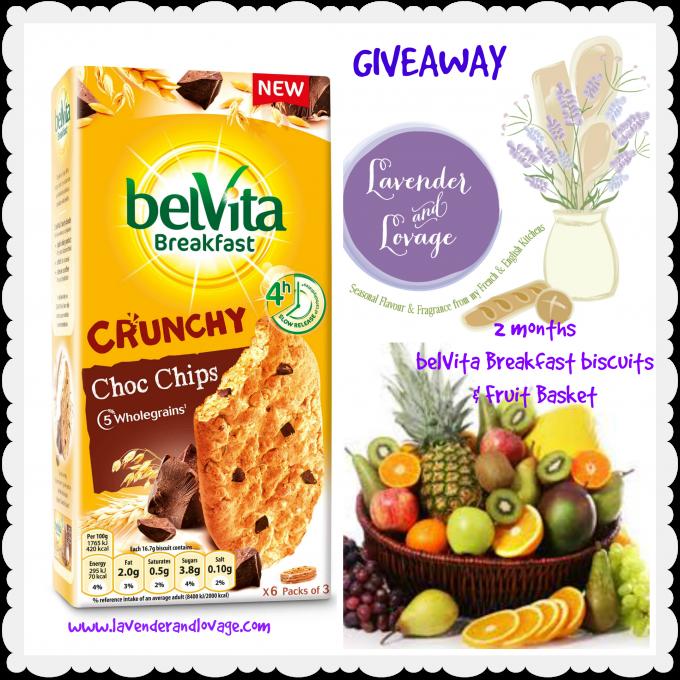 Belivita Breakfast Giveaway Lavender and Lovage
