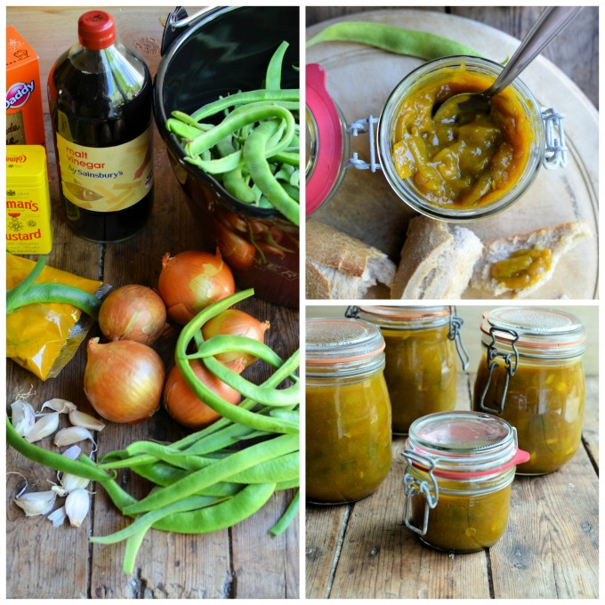 Spiced Runner Bean Pickle