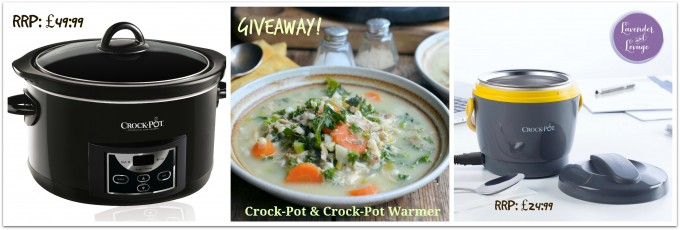 Giveaway: WIN a Countdown Slow Cooker Crock-Pot & Crock-Pot Warmer RRP: £74:98