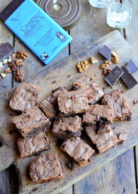 Sea Salt Chocolate Brownies