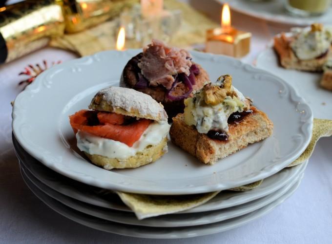 December Organic Party Food