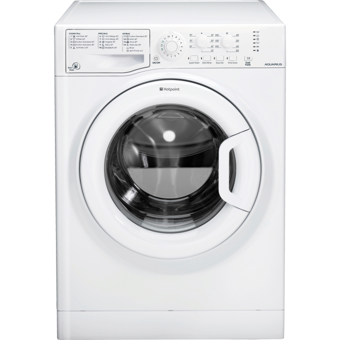 Giveaway: Hotpoint Aquarius Spin Washing Machine (6kg) RRP: £319
