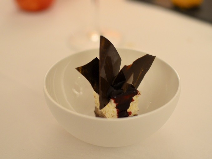 Cheesecake and Chocolate Shards