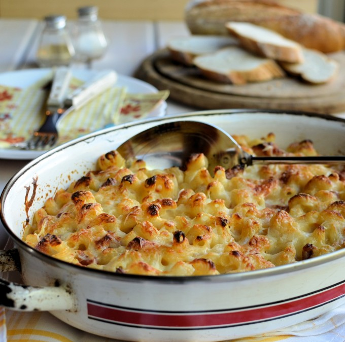 ... Recipe: Macaroni Cheese – Mac and Cheese with Bacon and Tomatoes
