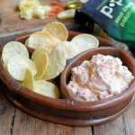 Popping the Weight Loss with Smoky Low Calorie Cheese & Pimento Dip and Chips!
