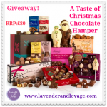 A Taste of Christmas Chocolate Hamper Banner