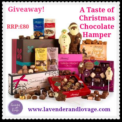 A Taste of Christmas Chocolate Hamper Banner