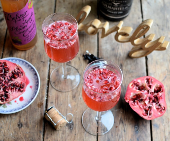 A New Year Cocktail and Christmas Leftovers! Sugar Plum Fairy Cocktail